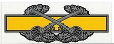 STICKER  U.S. ARMY COMBAT CAVALRY BADGE