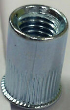 4 5 6 8 MM RIVNUTS COUNTERSUNK THREADED STEEL KNURLED NUTSERTS RIVET NUTS INSERT