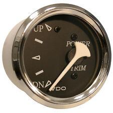 VDO Allentare Black Trim Gauge - For Use w/Mercury/Volvo/Yamaha 2001+ Engines -