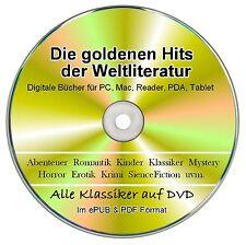 Goldene Ebook Sammlung auf DVD - Über 900 ebook Klassiker im  EPUB & PDF Format