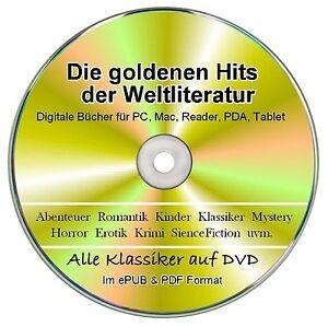 """Ebook Sammlung """"Gold"""" auf DVD - Über 900 ebook Klassiker im  EPUB & PDF Format"""