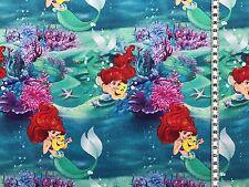 """Jersey """" Arielle die Meerjungfrau """" Disney - Kinderstoff"""