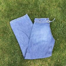 FCUK Summer Weight Hipster Flared Jeans Size 10