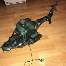 2002 GI Joe Cobra Night Attack Chopper Helicopter - See Description