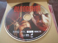 BLOODSHOT BLURAY, 2020 Disc only VIN DIESEL  NEW Release FREE SHIP