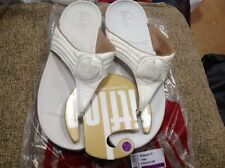 58fae987c9b6da FITFLOP SIZE UK 8...EU 42 WALKSTAR 3 OYSTER LEATHER TOE POST SANDALS