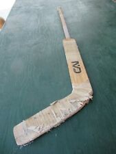 "Vintage Wooden 46"" Long Hockey Stick Goalie"