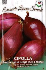 800 Semi/Seeds CIPOLLA Lunga Rossa di Tropea