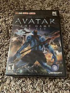 James Cameron's Avatar The Game PC DVD-ROM Ubisoft 2009 Brand New