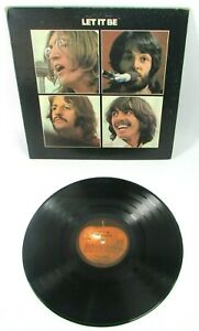 Beatles Let It Be Red Apple AR 34001 Phil & Ronnie on Matrix Orig GF LP Record