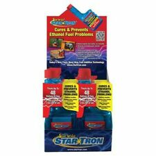 Star Tron Mini Counter Display Six 8 oz. bottles of gas additive