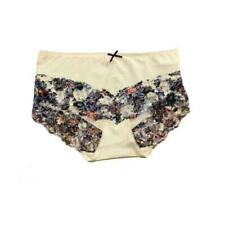 SIZE 18 M/&S 3 x Ultimate Comfort Supima Cotton High Leg Knickers 2 Nude1 White