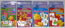 WINNIE THE POOH FLASH CARDS NUMBER MATCH, COLORS/SHAPES, FIRST WORDS, GROUPING