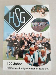 PROGRAMM FESTSCHRIFT 100 JAHRE JUBILÄUM HOLZHEIMER SG 1920 NEUSS NIEDERRHEIN