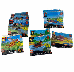 McDonalds Happy Meal 1999 Lego Classic New In Package 9 in Lot