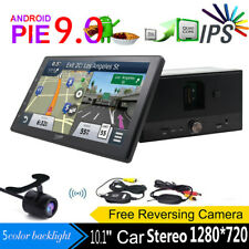 New Android 9.0 HD WiFi 2Din Car Head Unit Stereo Radio NO DVD Player GPS Navi