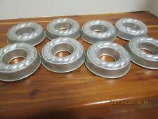 8 -Vintage Small Aluminum Gelatin Jell-O Custard Ice Cream Cake Mold Baking Pans