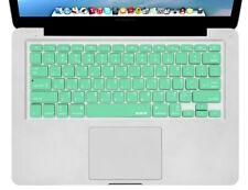 "Hebrew English Keyboard Skin for MacBook Pro 13"" 15"" 17"" Mint Green US Layout"
