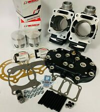 Banshee 64m Stock Stroker Cylinders Wiseco 795 Pistons Head Mod Top End Kit