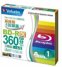 1x Verbatim Blu-ray Disc - 50GB 4X BD-R DL Recordable - Printable