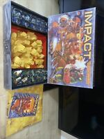 IMPACT EPISODE 1 ACTION BATTLE BOARD GAME Fun With Real Firepower Free P&p
