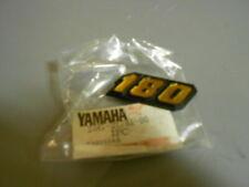 NOS 83-85 Yamaha Riva 180 XC180 Side Cover Emblem OEM 25G-21781-00