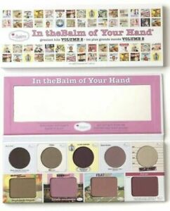 The Balm Cosmetics In the Balm Of Your Hand Volume 2 Palette MSRP $32 Neutrals