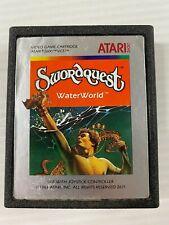 Atari Swordquest Waterworld rare game