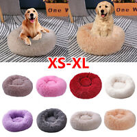 Pet Chien Chat Chenil Apaisant lit rond nid Warm Soft Plush Confortable Couchage