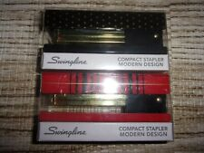 NEW SWINGLINE Compact 20 Sheet Stapler RED & BLACK AND POLKA DOT (LOT OF 2)