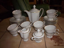 WEIMAR Porzellan Kaffeeservice für 12 Personen Modell ALT WEIMAR  21 Teile