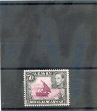 Kenya, Tang & Uganda Sc 79var(Sg 144ea)*Vf Nh 1950 50c Red Purple & Blk, $125