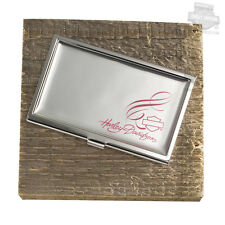 Harley Davidson Pink Label B&S Business Card Holder 99201-16V