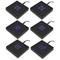 Asente Lights Large 16 LED Square Color Stand Base Crystals, Glass Art