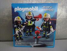 Playmobil City Action 5366 squadra pompieri con löschausrüstung -