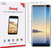 2X Dooqi Full Coverage HD Clear TPU Screen Protector For Samsung Galaxy Note 8