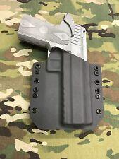 "Armor Gray Kydex Holster 5"" 2011 Double Stack Full  Rail"
