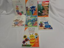 Baby Einstein DVD Lot 7 Signs Sounds Neptune Da Vinci Orchestra Animal Language