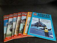 7 X 1970'S VINTAGE AIRFIX MAGAZINE FOR MODELLERS - 1 X 1978 + 6 X 1979