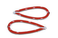 Gas Tank Emblem Mount Set for Harley Knucklehead Flathead Shovelhead