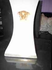 "VERSACE BY ROSENTHAL, GERMANY  ""GORGONA"" PORCELAIN BOOK END, 8 2/3 X 5 4/5 INCH"