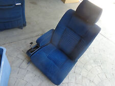 Driver Front Power Cloth Seat Lincoln Continental 84 85 86 87