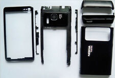 Black fascia housing faceplate cover facia case for Nokia N8