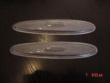 2 x Jaguar XK8, XKR Clear Side Bumper Reflector Lenses (2 pieces)