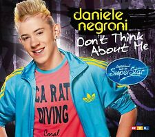 Daniele Negroni-Don 't Think About Me (2-Track) CD SINGLE NUOVO