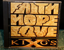 King's X Faith Hope Love  CD, Oct-1990, Megaforce Recs First Pressing