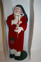 DEPARTMENT 56 CHRISTMAS CAROL DOLL HERITAGE VILLAGE COLLECTION 5907-2 SCROOGE