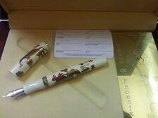 Stylo plume pen fullhalter VISCONTI PHOENIX/DRAGON MAKI 18kt nib écrit writing