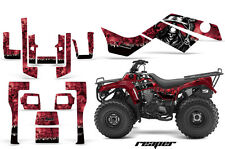 ATV Graphics Kit Quad Decal Sticker Wrap For Kawasaki Bayou 250 03-11 REAPER RED