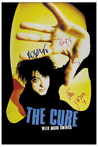 The Cure * Wild Mood Swings * Promotional Poster 1996  12x18